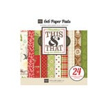 Echo Park - This and That Collection - Christmas - 6 x 6 Paper Pad
