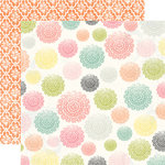 Echo Park - Victoria Garden Collection - 12 x 12 Double Sided Paper - Delightful Doilies