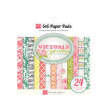 Echo Park - Victoria Garden Collection - 6 x 6 Paper Pad