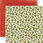 Echo Park - A Very Merry Christmas Collection - 12 x 12 Double Sided Paper - Holly Berry