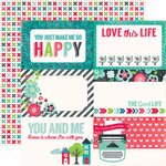 Echo Park - We Are Family Collection - 12 x 12 Double Sided Paper - 4 x 6 Journaling Cards