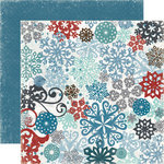 Echo Park - Winter Park Collection - 12 x 12 Double Sided Paper - Snow Storm