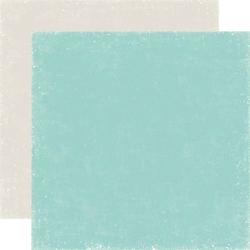 Echo Park - Winter Park Collection - 12 x 12 Double Sided Paper - Teal