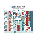 Echo Park - Winter Park Collection - 6 x 6 Paper Pad