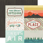 Echo Park - The Wild Life Collection - 12 x 12 Double Sided Paper - 4x6 Journaling Cards