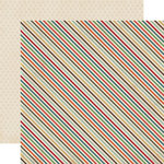 Echo Park - The Wild Life Collection - 12 x 12 Double Sided Paper - Wild Stripe