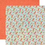 Echo Park - Walking On Sunshine Collection - 12 x 12 Double Sided Paper - Lobsters and Crabs