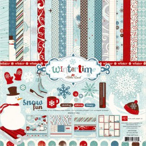 Echo Park - Wintertime Collection - 12 x 12 Collection Kit