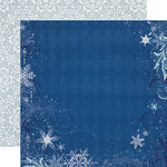 Echo Park - Winter Wishes Collection - 12 x 12 Double Sided Paper - Blizzard