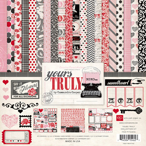 Echo Park - Yours Truly Collection - 12 x 12 Collection Kit