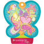 EK Success - American Girl Crafts - Chipboard Stickers with Foil Accents - Brilliant Butterflies, CLEARANCE
