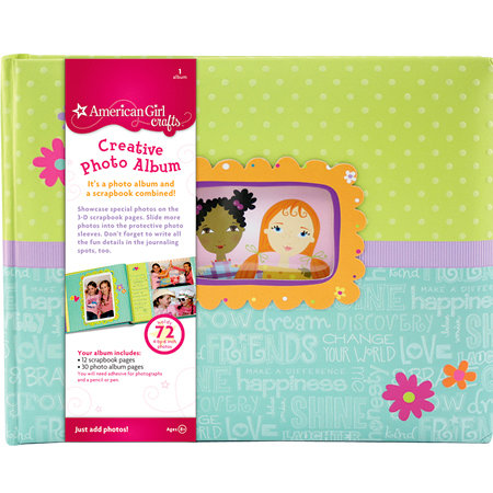 EK Success - American Girl Crafts - Creative Photo Album - Friends