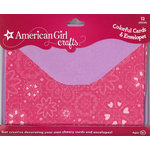 EK Success - American Girl Crafts - Cards and Envelopes - Warm