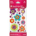 EK Success - American Girl Crafts - Stickers - Flowers