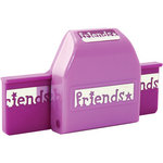 EK Success - American Girl Crafts - Border Punch - Friends