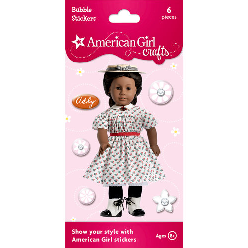EK Success - American Girl Crafts - Bubble Stickers - Addy Walker 3
