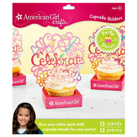 EK Success - American Girl Crafts - Party Collection - Small Cupcake Stands