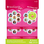 EK Success - American Girl Crafts - Party Collection - Craft Favors - Doll Mini Embellishment