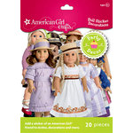 EK Success - American Girl Crafts - Party Collection - Decorations - Doll Sticker