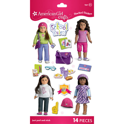 EK Success - American Girl Crafts - Stacked Stickers - My American Girl Innerstar U