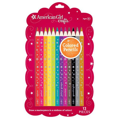 EK Success - American Girl Crafts - Colored Pencils