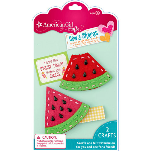 EK Success - American Girl Crafts - Sew and Shares Collection - Fabric Craft Kit - Watermelons