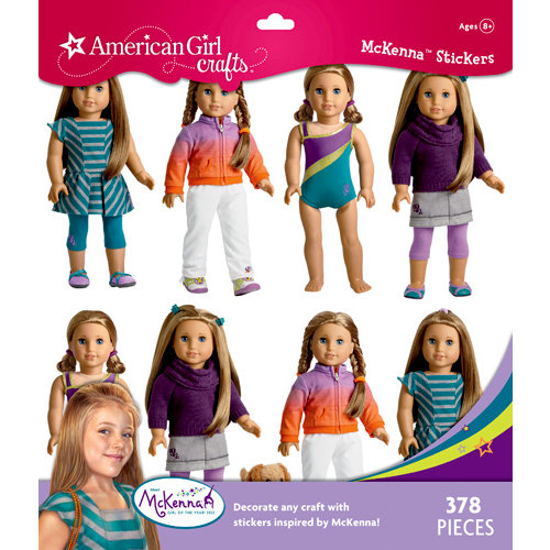 EK Success - American Girl Crafts - Sticker Pack - McKenna