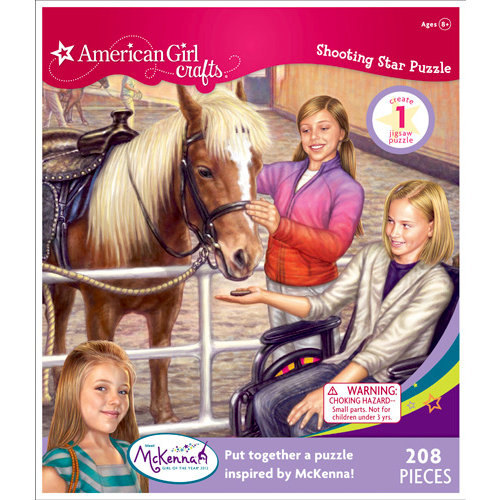 EK Success - American Girl Crafts - Hearts and Horses Puzzle