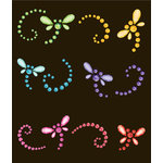 EK Success - Jolee's Boutique - All That Bling Collection - 3 Dimensional Stickers - Dragonflies