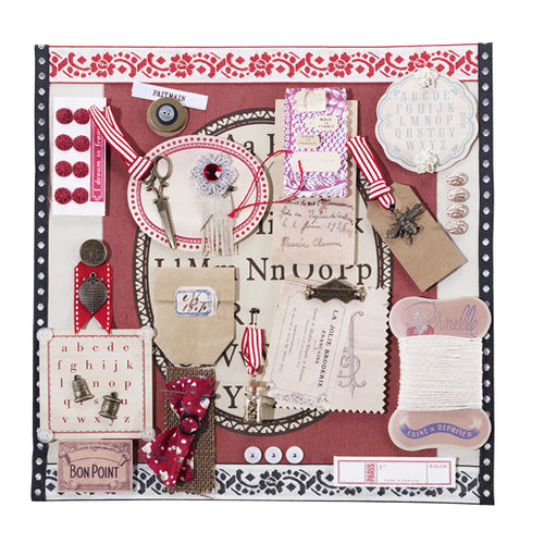 EK Success - Jolee's Boutique - French General Collection - French Vignette
