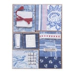 EK Success - Jolee's Boutique - French General Collection - Bleu Fabric Remnants
