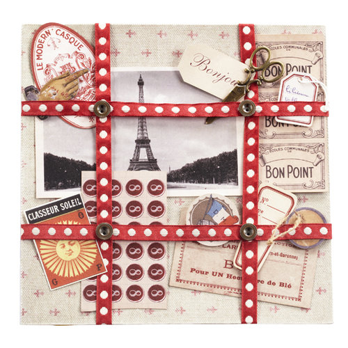 EK Success - Jolee's Boutique - French General Collection - Ephemera French Paper Kit