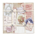 EK Success - Jolee's Boutique - French General Collection - Ephemera Floral Paper Kit