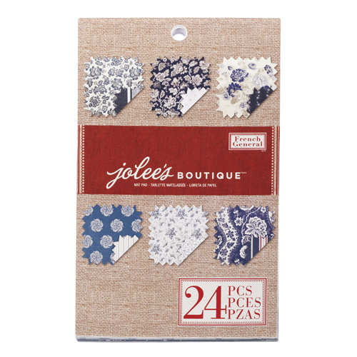 EK Success - Jolee's Boutique - French General Collection - Bleu Fleur Mat Pad