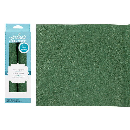 EK Success - Jolee's Boutique - Adhesive Glitter Paper - Green