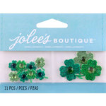 EK Success - Jolee's by You Redux - 3 Dimensional Embellishments with Gem Accents - Shamrocks
