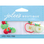 EK Success - Jolee's by You Redux - 3 Dimensional Embellishments with Gem Accents - Apples