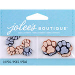 EK Success - Jolee's by You Redux - 3 Dimensional Embellishments - Pawprints