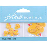EK Success - Jolee's by You Redux - 3 Dimensional Embellishments - Mini Rubber Duckies