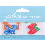 EK Success - Jolee's by You Redux - 3 Dimensional Embellishments with Glitter Accents - Mini Bow Ties