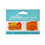 EK Success - Jolee's Boutique - 3D Embellishments with Foil Accents - Apple Picking