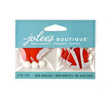 EK Success - Jolee's Boutique - Christmas - 3D Embellishments - Christmas Santa Hats and Coats