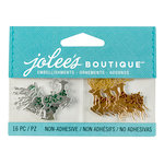 EK Success - Jolee's Boutique - Christmas - 3D Embellishments with Foil Accents - Mini Reindeer