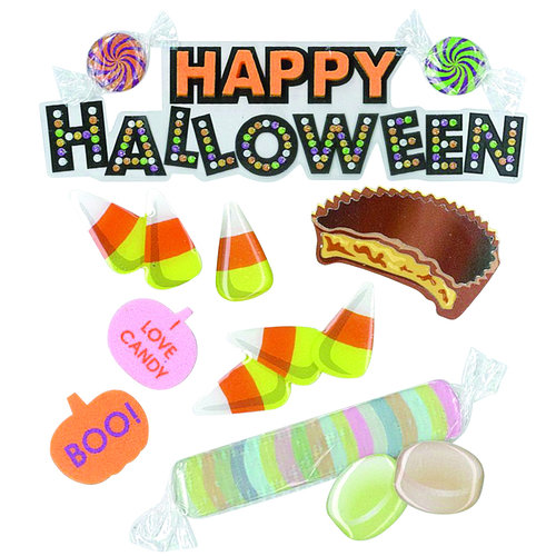 EK Success - Jolee's Boutique - 3 Dimensional Stickers - Happy Halloween