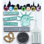 EK Success - Jolee's Boutique - 3 Dimensional Stickers with Epoxy and Glitter Accents - New York