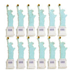 EK Success - Jolee's Boutique - 3 Dimensional Stickers with Gem and Glitter Accents - Statue of Liberty Repeats