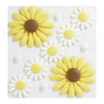 EK Success - Jolee's Boutique - Confections Collection - 3 Dimensional Stickers - Icing Sunflowers