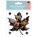 EK Success - Jolee's Boutique - Halloween Collection - 3 Dimensional Stickers with Gem and Glitter Accents - Die Cut Leaf