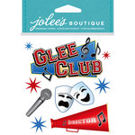 EK Success - Jolee's Boutique - Core Refresh Collection - 3 Dimensional Stickers Foil and Gem Accents - Glee Club