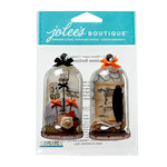 EK Success - Jolee's Boutique - Halloween 2013 Collection - 3D Stickers with Gem Accents - Apothecary Jars